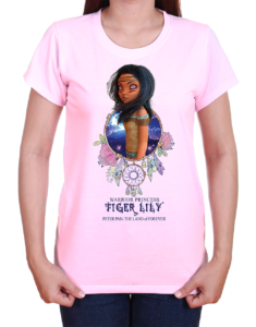 Tiger Lily Warrior Princess T-Shirt